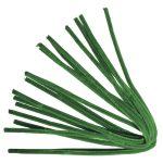 Zseníliadrót, 50 cm, zöld, csom. 10 db, 9 mm vastag