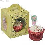Sizzix Thinlits Plus-készlet- Box, Cupcake