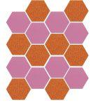 Sizzix Bigz vágósablon- Hexagons, 1/2 Sides, 14x17,4x1,9cm,
