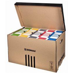 DONAU Archiváló konténer, felfelé nyíló, DONAU, barna
