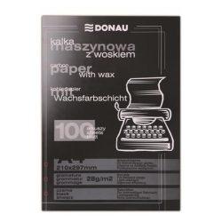 DONAU Indigó, gépi, A4, 100 lap, DONAU, fekete