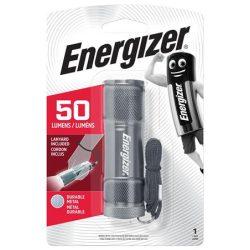 """ENERGIZER Elemlámpa, LED, 3xAAA (nem tartozék), fém ház, ENERGIZER """"3 LED Metal"""""""