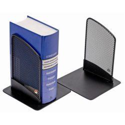 ALBA Könyvtámasz, fémhálós, 2 db, ALBA, fekete