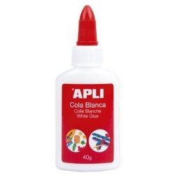 "APLI Hobbyragasztó, 40 g, APLI ""White Glue"""