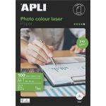 """APLI Fotópapír, lézer, A4, 210 g, fényes, kétoldalas, APLI """"Premium Laser"""""""