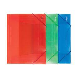 Centrum Gumis mappa PP Centrum A/4 vegyes színek