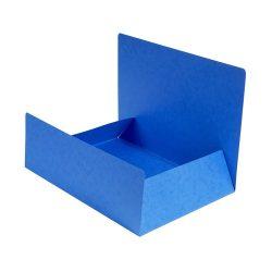 Exacompta Pólyás iratgyűjtő Exacompta A/4 prespán 400g kék