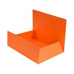 Exacompta Pólyás iratgyűjtő Exacompta A/4 prespán 400g narancssárga