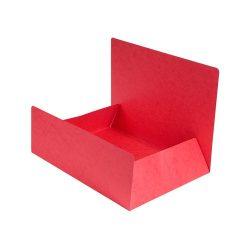 Exacompta Pólyás iratgyűjtő Exacompta A/4 prespán 400g piros