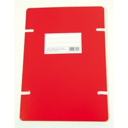 Noname Szalagos irományfedél A/4 1050g piros
