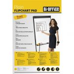 Bi-Office Flipchart papír Bi-Office 59x81 cm 55g 20 ív/csomag sima