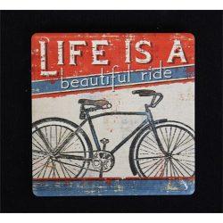 Noname Hűtőmágnes 7,5*7,5 cm Bicikli