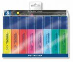 STAEDTLER Szövegkiemelő készlet, 1-5 mm, STAEDTLER, 8 különböző szín